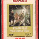 The Guess Who - The Best Of The Guess Who 1971 RCA A33 8-TRACK TAPE