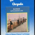 Blondie - Autoamerican 1980 Chrysalis A33 8-TRACK TAPE