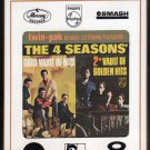 The 4 Four Seasons - Gold Vault & 2nd Vault Of Golden Hits 1966 MERCURY A33 8-TRACK TAPE