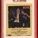 AC/DC - If You Want Blood You Got It 1978 RCA ATLANTIC A33 8-TRACK TAPE
