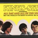 The Kinks - Kinks-Size 1988 RHINO C8 CASSETTE TAPE