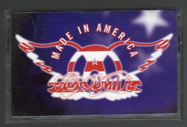 Aerosmith - Made In America 1997 SONY C8 CASSETTE TAPE