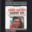 Johnny Horton - Johnny Horton's Greatest Hits 1961 CBS Re-issue A33 8-TRACK TAPE