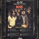 AC/DC - Highway To Hell 1979 ATLANTIC A33 8-TRACK TAPE