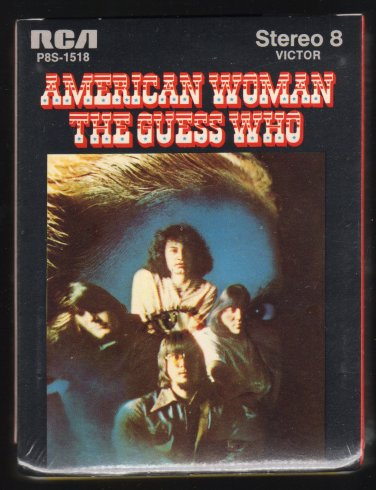 The Guess Who - American Woman 1970 RCA Sealed A33 8-TRACK TAPE