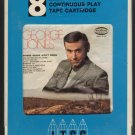 George Jones - Where Grass Won't Grow 1969 ITCC MUSICOR Sealed A18C 8-TRACK TAPE