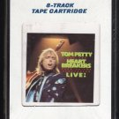 Tom Petty and The Heartbreakers - Pack Up The Plantation LIVE! 1985 CRC Sealed T2 8-TRACK TAPE