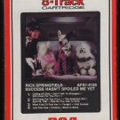 Rick Springfield - Success Hasn't Spoiled Me Yet 1982 RCA Sealed A2 8-TRACK TAPE