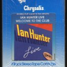 Ian Hunter - LIVE Welcome To The Club 1980 CHRYSALIS Sealed A16 8-TRACK TAPE