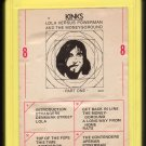 The Kinks - Lola Versus Powerman and the Moneygoround, Part One 1970 AMPEX REPRISE T4 8-TRACK TAPE