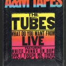 The Tubes - What Did You Want From LIVE 1978 A&M Sealed A16 8-TRACK TAPE