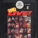 War - War LIVE 1974 UA Sealed A16 8-TRACK TAPE