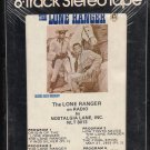 The Lone Ranger - The Lone Ranger on Radio 1977 NLT Sealed A48 8-TRACK TAPE