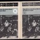 The Allman Brothers Band - At Fillmore East Part 1&2 1972 WB Quadraphonic A53 8-TRACK TAPE