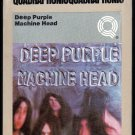 Deep Purple - Machine Head 1974 WB Quadraphonic A53 8-TRACK TAPE