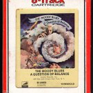 The Moody Blues - A Question Of Balance 1970 RCA THRESHOLD A53 8-TRACK TAPE