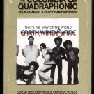 Earth, Wind & Fire - That's The Way Of The World 1975 CBS Quadraphonic A53 8-TRACK TAPE