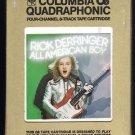 Rick Derringer - All American Boy 1973 Debut CBS Quadraphonic A53 8-TRACK TAPE