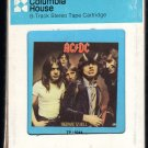 AC/DC - Highway To Hell 1979 CRC ATLANTIC AC2 8-TRACK TAPE