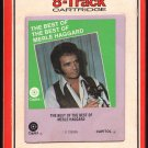 Merle Haggard - The Best Of The Best Of 1972 RCA CAPITOL A23 8-TRACK TAPE