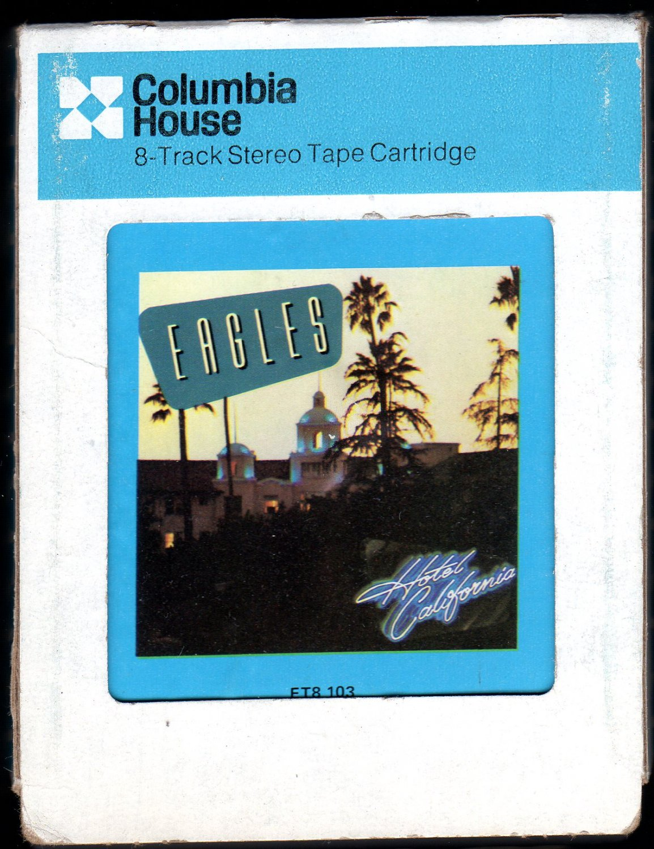 Eagles - Hotel California 1976 CRC ELEKTRA A52 8-TRACK TAPE