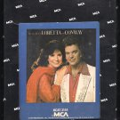 Conway Twitty & Loretta Lynn - The Very Best 1979 MCA A23 8-TRACK TAPE