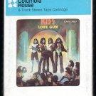 KISS - Love Gun 1977 CRC CASABLANCA A21B 8-TRACK TAPE
