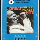Wilson Pickett - Great Wilson Pickett Hits 1967 ITCC WAND A51 8-TRACK TAPE
