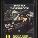 Buddy Rich - The Roar Of '74 1973 AMPEX GROOVE MERCHANT Quadraphonic A23 8-TRACK TAPE