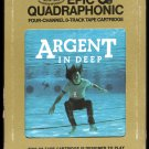 Argent - In Deep 1973 EPIC Quadraphonic A23 8-TRACK TAPE