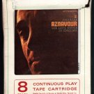 Charles Aznavour - His Love Songs In English 1965 REPRISE LEAR AMPEX T3 8-TRACK TAPE