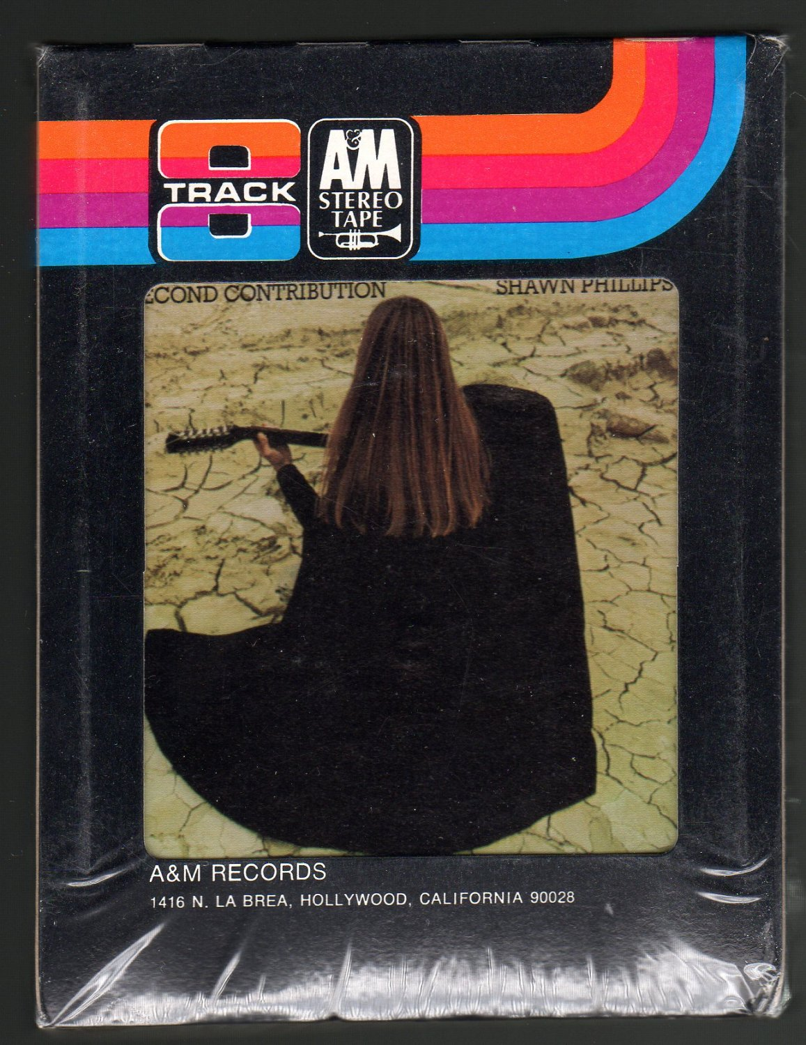 Shawn Phillips - Second Contribution 1970 A&M Sealed A23 8-TRACK TAPE