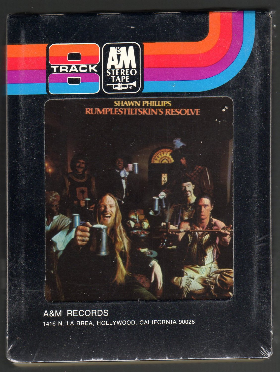 Shawn Phillips - Rumplestiltskin's Resolve 1975 A&M Sealed A23 8-TRACK TAPE