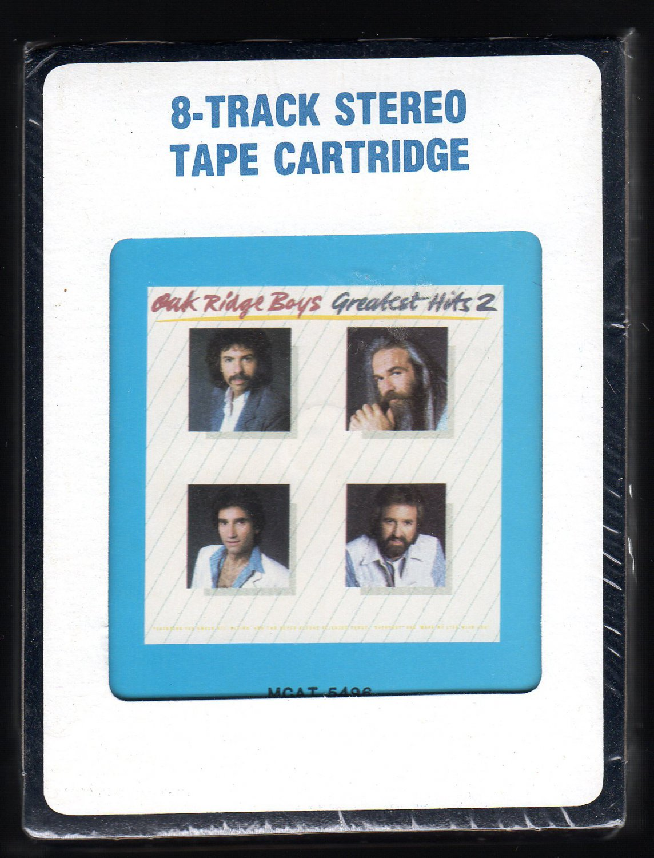 Oak Ridge Boys - Greatest Hits 2 1984 RCA Sealed A23 8-TRACK TAPE