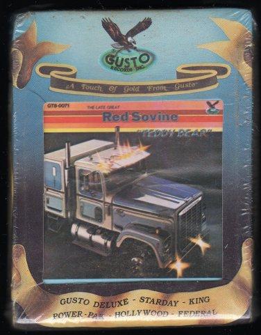 Red Sovine - Teddy Bear 1976 GUSTO Sealed A23 8-TRACK TAPE