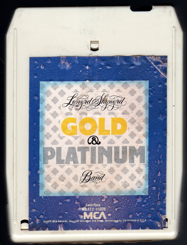 Lynyrd Skynyrd - Gold & Platinum 1979 MCA A23 8-TRACK TAPE
