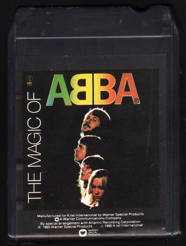Abba - The Magic Of Abba 1980 K-TEL A2 8-TRACK TAPE