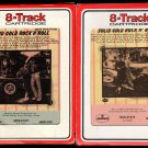 Solid Gold Rock 'n' Roll - Volumes 1 & 2 1972 RCA MERCURY A23 8-TRACK TAPE