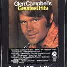 Glen Campbell - Greatest Hits 1971 CAPITOL A41 8-TRACK TAPE