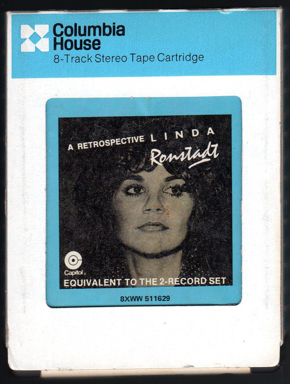 Linda Ronstadt - A Retrospective 1977 CRC CAPITOL A41 8-TRACK TAPE