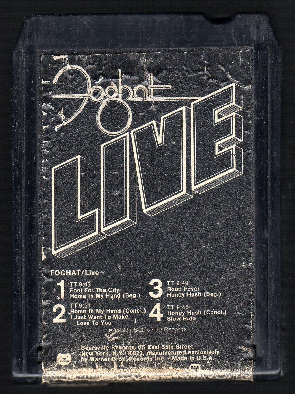 Foghat - LIVE 1977 WB BEARSVILLE T7 8-TRACK TAPE