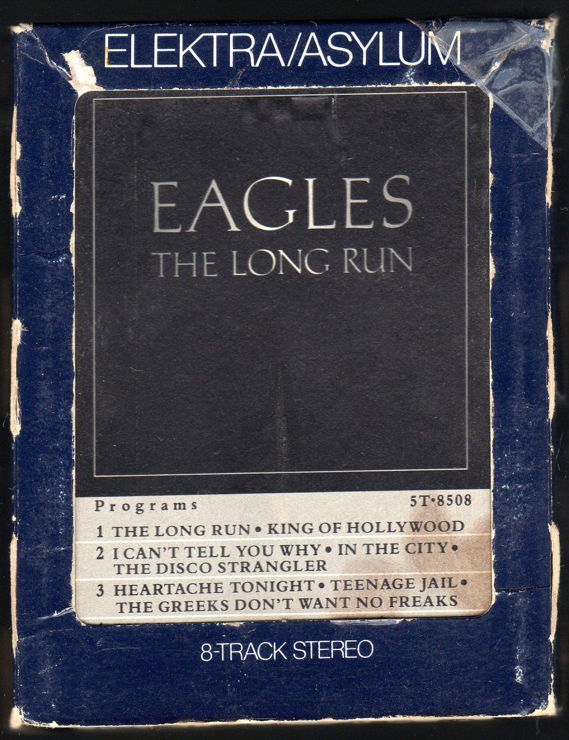 Eagles - The Long Run 1979 ELEKTRA A28 8-TRACK TAPE