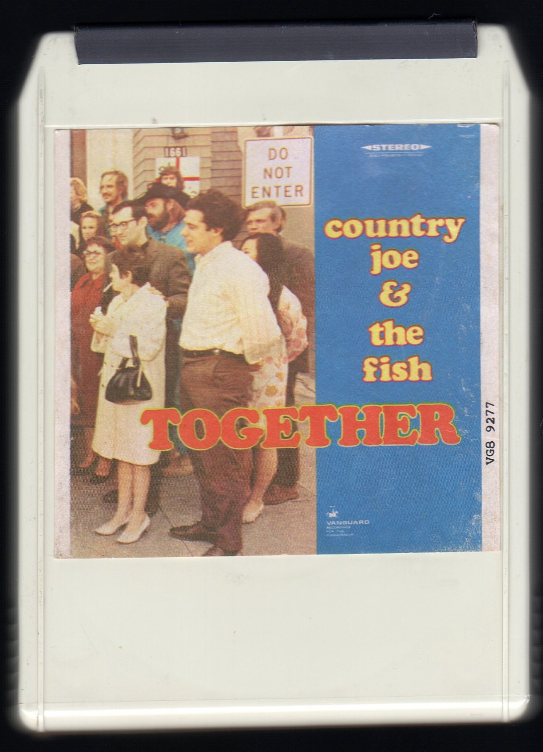 Country Joe and The Fish - Together 1968 LEAR AMPEX VANGUARD A28 8-TRACK TAPE