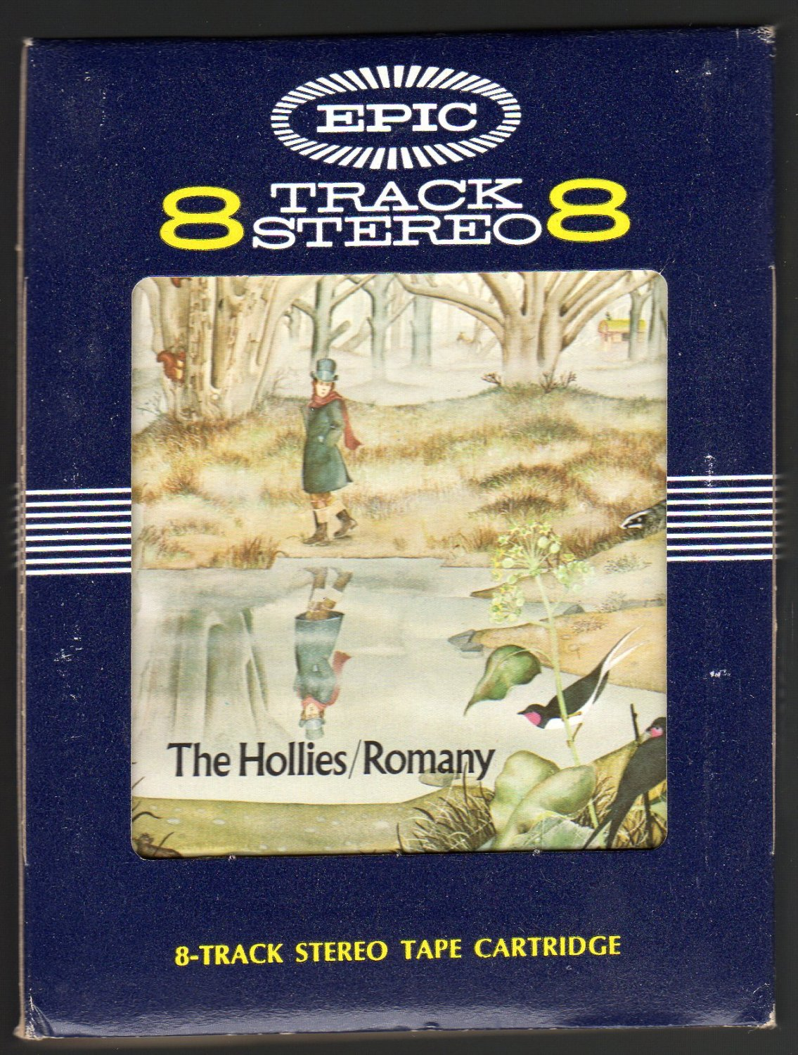 The Hollies - Romany 1972 EPIC C/O A28 8-TRACK TAPE