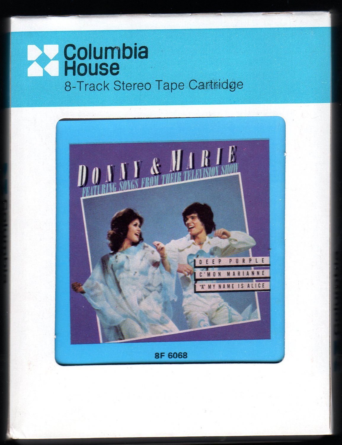 Donnie & Marie Osmond - Donny & Marie 1976 CRC POLYDOR A4 8-TRACK TAPE