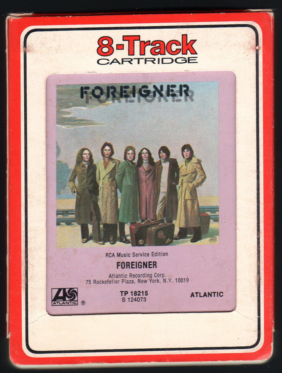 Foreigner - Foreigner 1977 Debut RCA ATLANTIC A22 8-TRACK TAPE