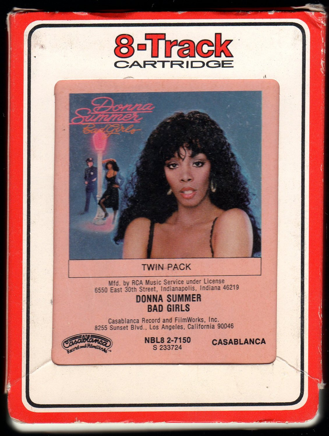 Donna Summer - Bad Girls 1979 RCA CASABLANCA A22 8-TRACK TAPE