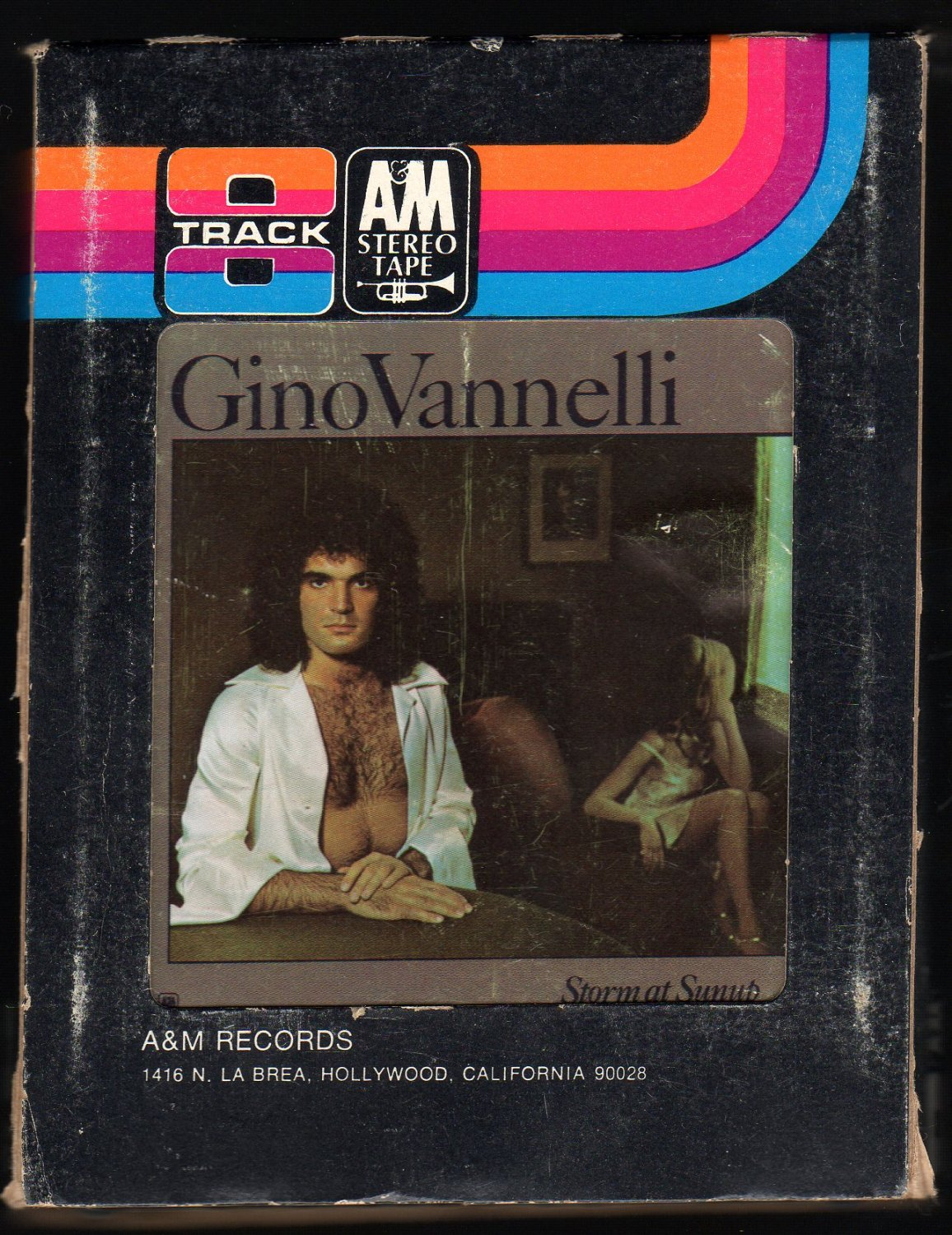 Gino Vannelli - Storm At Sunup 1975 A&M A22 8-TRACK TAPE