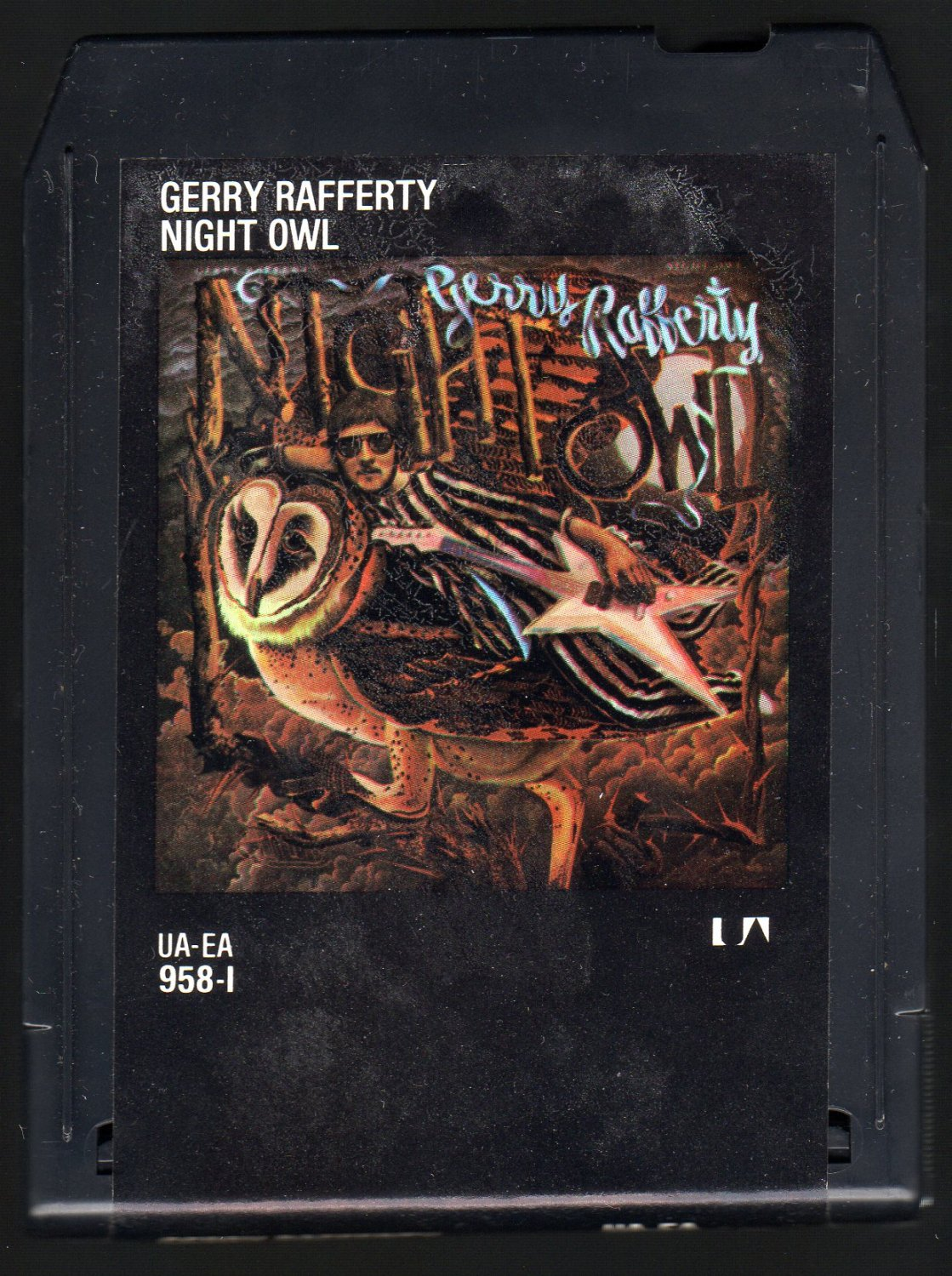Gerry Rafferty - Night Owl 1979 UA A22 8-TRACK TAPE
