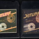 Hitline - Various Rock Vol 1 & 2 1980 KTEL A44 8-TRACK TAPE